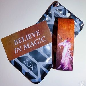 ZOX Strap Wristband - Believe in Magic * Unicorn